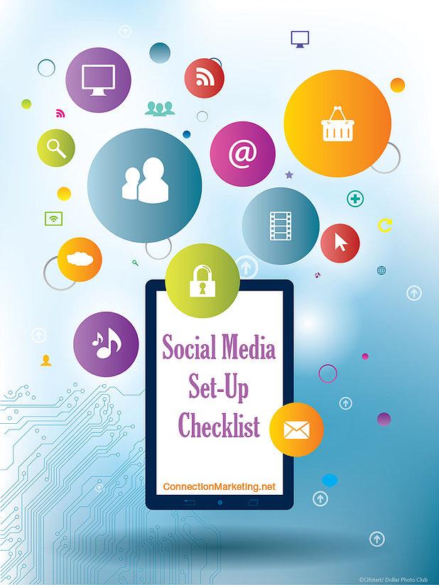 Social Media Set-Up Checklist | Connection Marketing